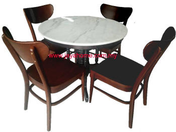 Kopitiam Marble Table Marble Dining Table 咖啡店云石桌椅